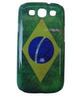 Back Cover Samsung Galaxy S3 i9300 - Desenho Bandeira do Brasil
