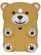 Capa Case Back Cover Desenho Urso BEGE Tablet Samsung Galaxy Note 8.0 N5100 N5110