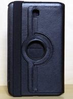 Capa Case Carteira Giratória 360º PRETA Tablet Samsung Galaxy Tab4 8 Modelos SM-T330, SM-T331 e SM-T335