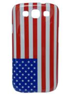 Back Cover Samsung Galaxy S3, Bandeira Estados unidos + Pelicula Grátis