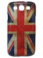 Back Cover Samsung Galaxy S3, Bandeira Inglaterra Velha + Pelicula Grátis