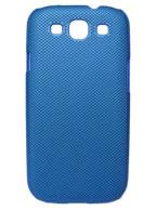 Back Cover Samsung Galaxy S3 Azul com Relevo + Pelicula Grátis