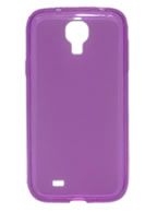 Back-Cover Samsung Galaxy S4 i9500 ou i9505, Roxa Semi-transparente