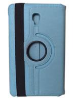 Capa Case Capinha Carteira Giratória 360° AZUL Turquesa Tablet Samsung Galaxy Tab A 8.0 (2017) SM-T380 SM-T385m