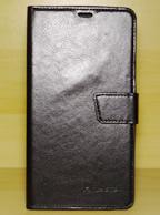 Capa Case Capinha Couro Carteira PRETA Smartphone Asus ZenFone 6.0 A600 A601 ++ Película de Vidro