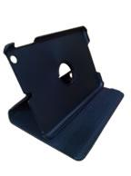 Capa Case Capinha Giratória 360º PRETA Tablet Apple iPad Mini 1 códigos A1432 A1454 A1455 -- iPad Mini 2 códigos A1489 A1490 A1491 --  iPad Mini 3 códigos A1599 e A1600