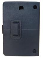 Capa Case Carteira Couro PRETA Tablet Samsung Galaxy Tab A 8.0 Modelos SM-P350n, SM-P355m, SM-T350n ou SM-T355n V3