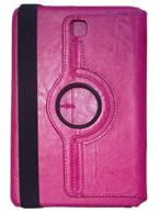 Capa Case Carteira Giratória 360º PINK Tablet Samsung Galaxy Tab A 8.0 Modelos SM-P350n, SM-P355m, SM-T350n ou SM-T355n