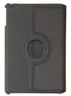 Capa Case Carteira Giratória 360º PRETA Tablet Apple iPad Mini 4 códigos A1538 e A1550