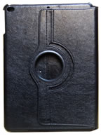 Capa Case Carteira Giratória 360º PRETA Tablet Apple iPad5 Air A1474, A1475 e A1476 -- iPad6 Air 2 A1566 e A1567 -- V2