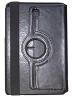 Capa Case Carteira Giratória 360º PRETA Tablet Samsung Galaxy Tab A 8.0 Modelos SM-P350n, SM-P355m, SM-T350n ou SM-T355n