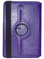 Capa Case Carteira Giratória 360º ROXA Tablet Samsung Galaxy Tab A 8.0 Modelos SM-P350n, SM-P355m, SM-T350n ou SM-T355n
