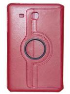 Capa Case Carteira Giratória 360º VERMELHA Tablet Samsung Galaxy Tab E 9.6 Modelos SM-T560n ou SM-T561m
