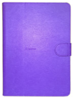 Capa Case Carteira ROXA Tablet Apple iPad5 Air A1474, A1475 e A1476 -- iPad6 Air 2 A1566 e A1567