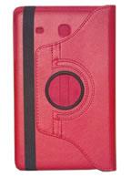 Capa Case Giratória 360º VERMELHA Tablet Samsung Galaxy Tab E 9.6 Modelos SM-T560n ou SM-T561m