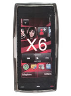 Capa Protetora de Silicone Nokia X6 Fumê