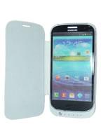 Capa Flip com Bateria para Samsung Galaxy SIII i9300 ou i9305 3200mAh BRANCA + 2 Capas Back Cover de Brindes