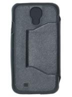 Capa Inclinável PRETA Samsung Galaxy S4 i9500 ou i9505 + Brindes
