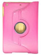 Capa Case Giratória 360 PINK Tablet Apple iPad Mini modelos A1432, A1454 e A1455