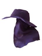 Chapéu Australiano AZUL Marinho C/ Protetor de Nuca p/ Pescador, Mateiro, Agricultor entre Outros